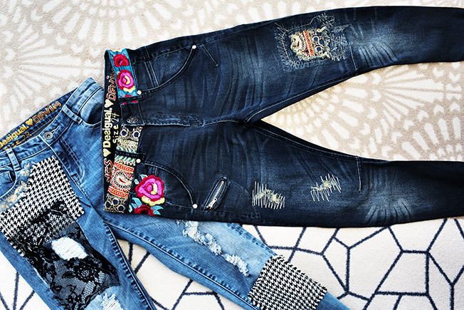 Desigual Exotic Denim